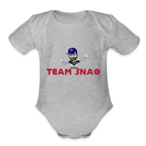 Team Snag Shirt - Organic Short Sleeve Baby Bodysuit