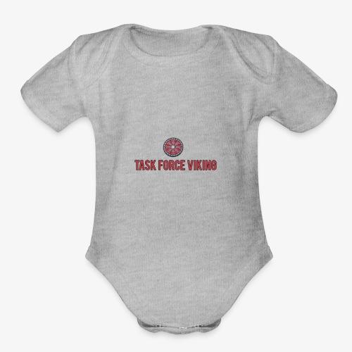 Task Force Viking - Organic Short Sleeve Baby Bodysuit