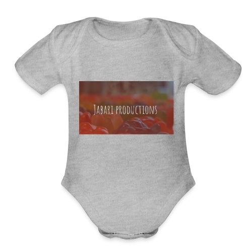 Jabari - Organic Short Sleeve Baby Bodysuit