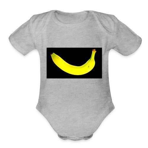 banana 2002541 1920 - Organic Short Sleeve Baby Bodysuit