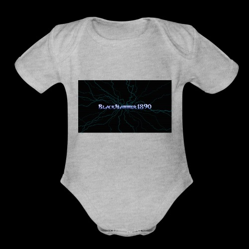 BlackHammer1890 - Organic Short Sleeve Baby Bodysuit