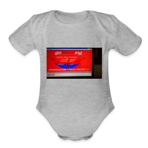 WP 20180914 12 48 32 Pro HDƯƠNGNIÊ - Organic Short Sleeve Baby Bodysuit