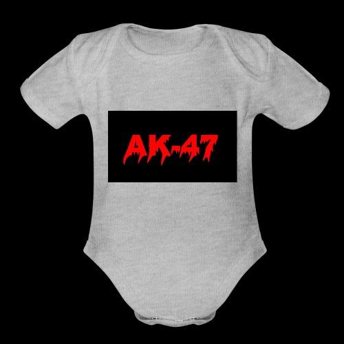hca desing - Organic Short Sleeve Baby Bodysuit