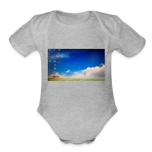 designer hdươngniê - Organic Short Sleeve Baby Bodysuit