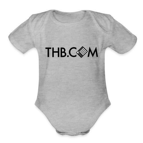 THB.com - Organic Short Sleeve Baby Bodysuit