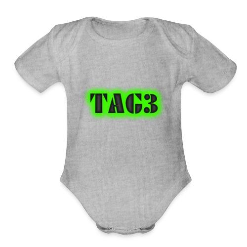 TRIPLE A GAMERS - Organic Short Sleeve Baby Bodysuit