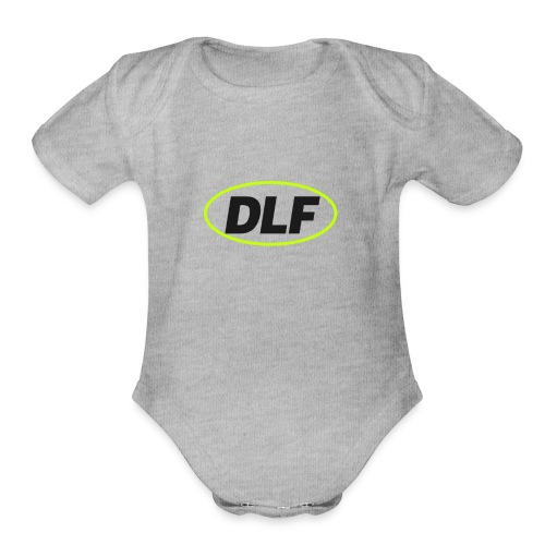 The Black Classic - Organic Short Sleeve Baby Bodysuit