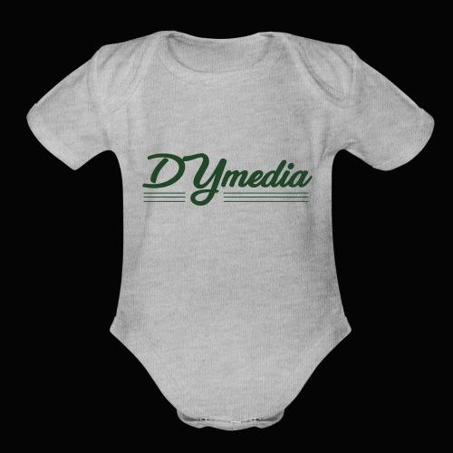 DY LINES - Organic Short Sleeve Baby Bodysuit