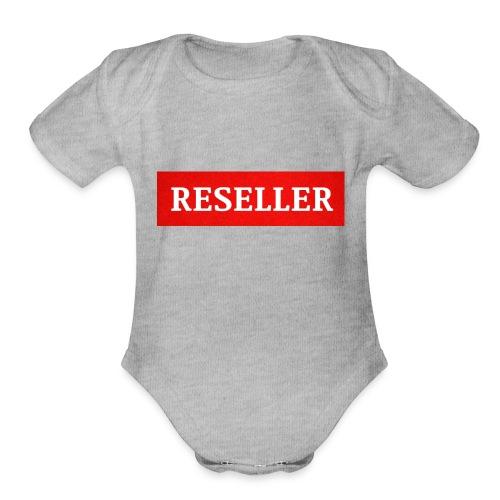 Reseller - Organic Short Sleeve Baby Bodysuit
