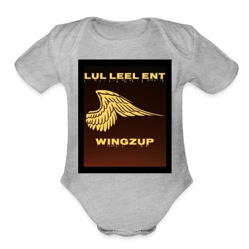 Lul Leel - Organic Short Sleeve Baby Bodysuit