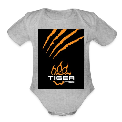 Tiger Pride iPad Case - Organic Short Sleeve Baby Bodysuit