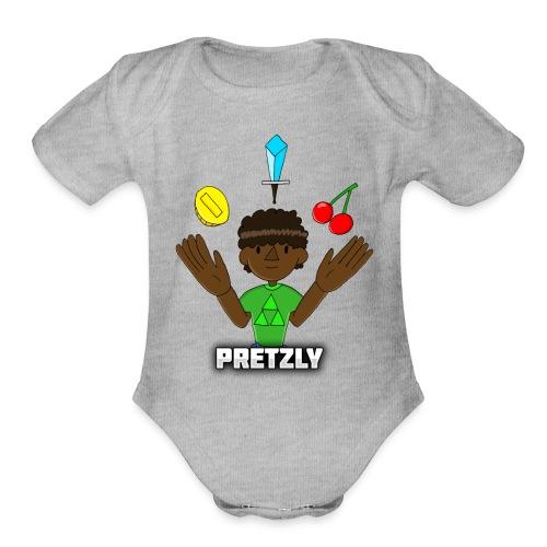 Pretzly Design - Organic Short Sleeve Baby Bodysuit