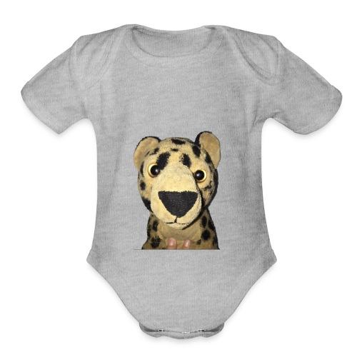 Tigey - Organic Short Sleeve Baby Bodysuit