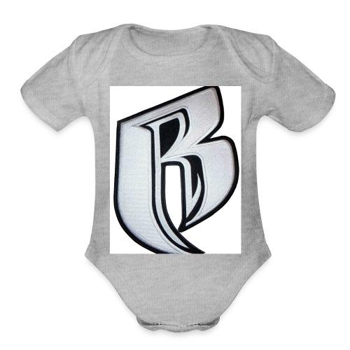 RR - Organic Short Sleeve Baby Bodysuit
