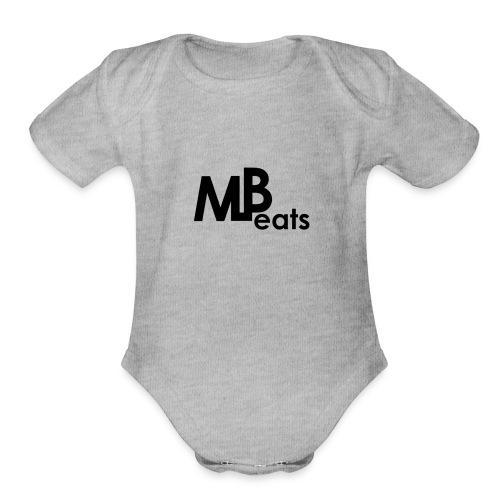 MLBeats - Organic Short Sleeve Baby Bodysuit