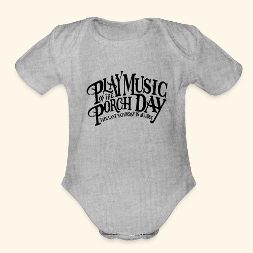 shirt4 FINAL - Organic Short Sleeve Baby Bodysuit