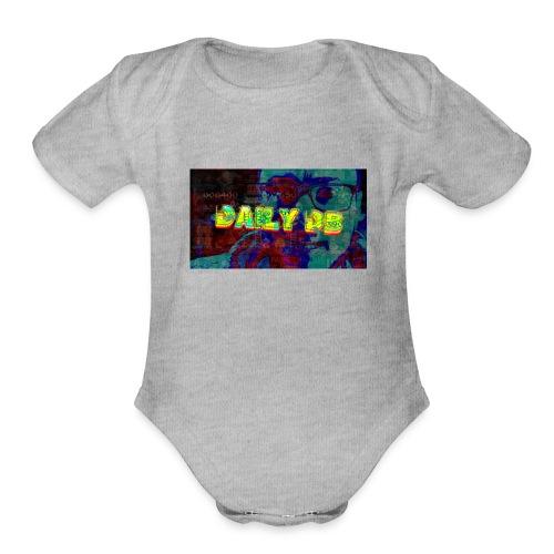 The DailyDB - Organic Short Sleeve Baby Bodysuit