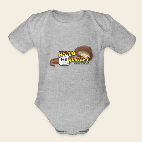 Helium Hunters Gear - Organic Short Sleeve Baby Bodysuit