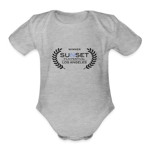 Sunset Winner - Organic Short Sleeve Baby Bodysuit