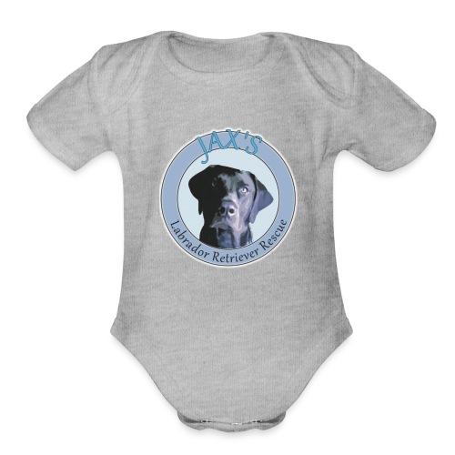 Jax's Logo - Organic Short Sleeve Baby Bodysuit