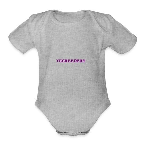 Tegreeders all baby MERCH! - Organic Short Sleeve Baby Bodysuit