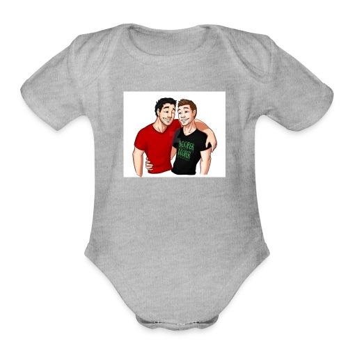 Septiplier Clothes - Organic Short Sleeve Baby Bodysuit