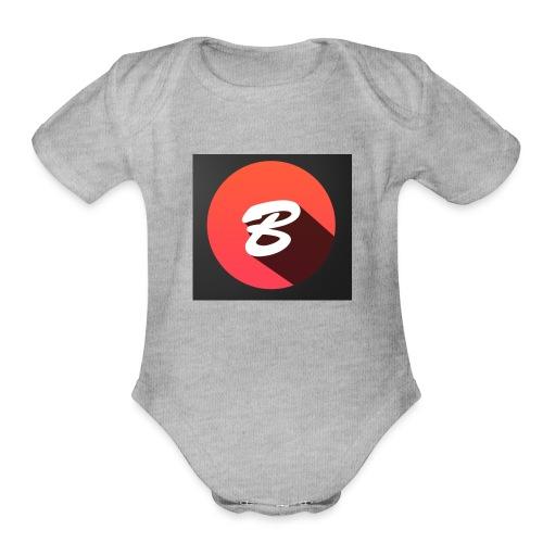 BENTOTHEEND PRODUCTS - Organic Short Sleeve Baby Bodysuit