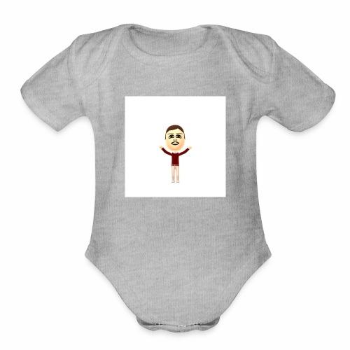 Mii - Organic Short Sleeve Baby Bodysuit