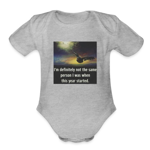 Change - Organic Short Sleeve Baby Bodysuit
