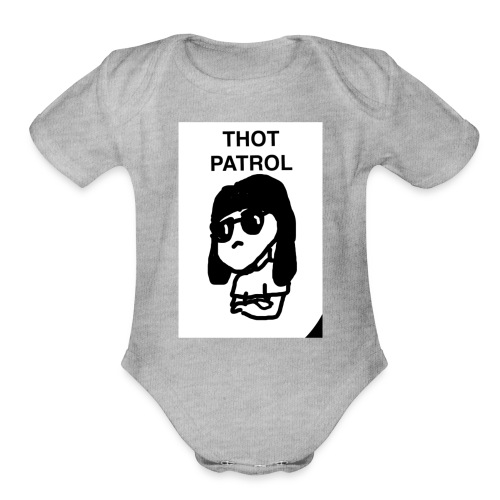 IMG 0421 - Organic Short Sleeve Baby Bodysuit