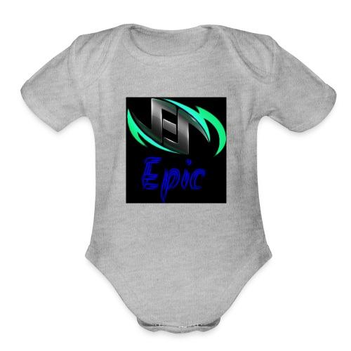 TeamEpicMarcos - Organic Short Sleeve Baby Bodysuit