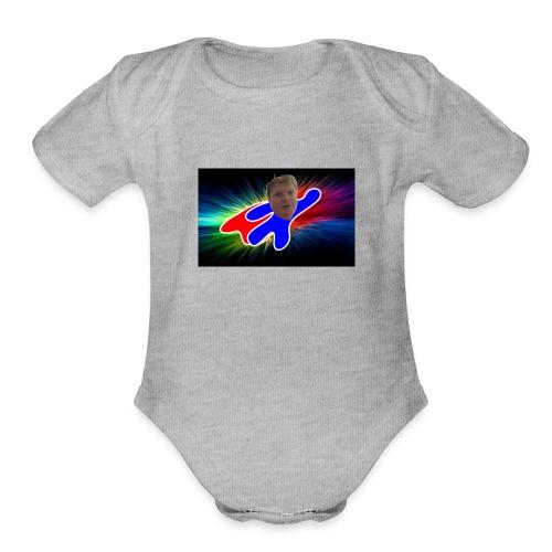 Super tech - Organic Short Sleeve Baby Bodysuit