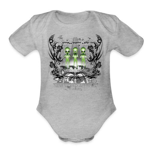 See Hear Speak no Evil - Organic Short Sleeve Baby Bodysuit