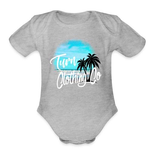 turn clothing co shirt design - Organic Short Sleeve Baby Bodysuit