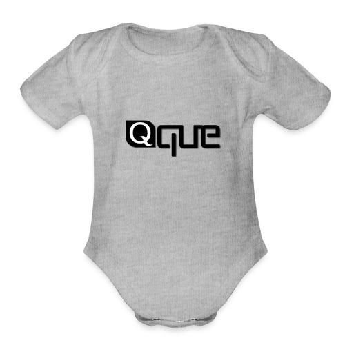 Que USA - Organic Short Sleeve Baby Bodysuit
