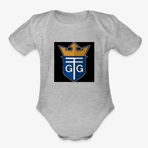 Rain Productions Nation - Organic Short Sleeve Baby Bodysuit