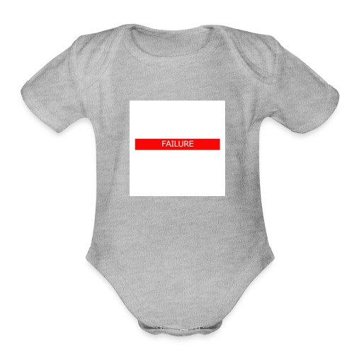 Failure Merch - Organic Short Sleeve Baby Bodysuit