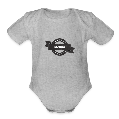 10191653 designstyle grunge o - Organic Short Sleeve Baby Bodysuit