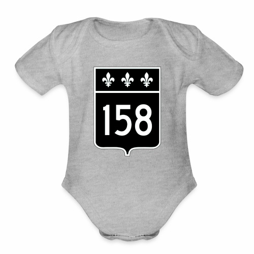 route 158 - Organic Short Sleeve Baby Bodysuit
