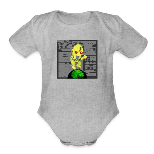 Hollow Earth Mug - Organic Short Sleeve Baby Bodysuit