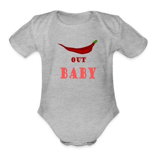 Chilly Quote - Organic Short Sleeve Baby Bodysuit