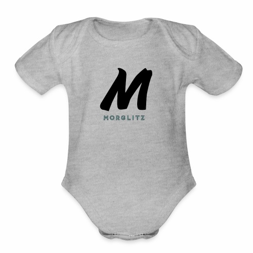 The Real Morglitz Merchandise! - Organic Short Sleeve Baby Bodysuit