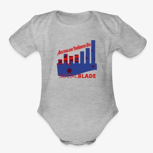Australian YouTubers - Organic Short Sleeve Baby Bodysuit