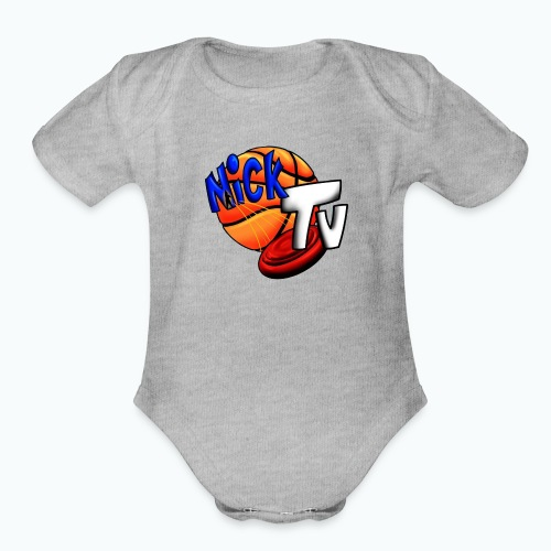 Nick TV Big and Tall - Organic Short Sleeve Baby Bodysuit
