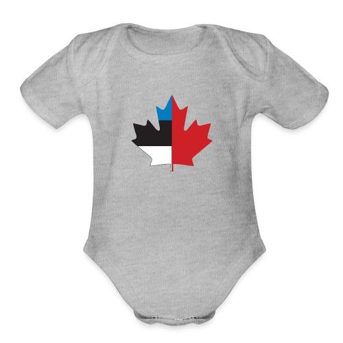 Esto-Canadian - Organic Short Sleeve Baby Bodysuit