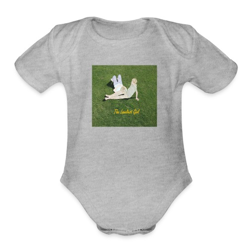 The Loveliest Girl - Organic Short Sleeve Baby Bodysuit