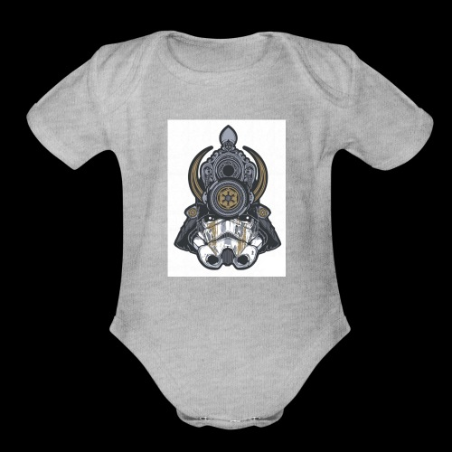 For Honor Samurai Trooper - Organic Short Sleeve Baby Bodysuit