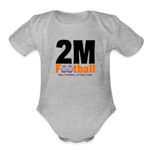 Official 2M Football Gear - Organic Short Sleeve Baby Bodysuit