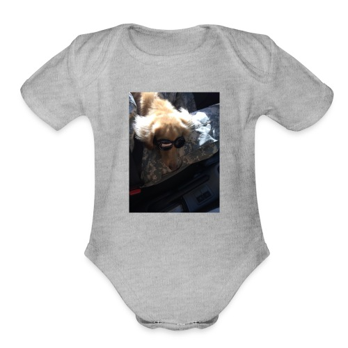 Sasuke - Organic Short Sleeve Baby Bodysuit