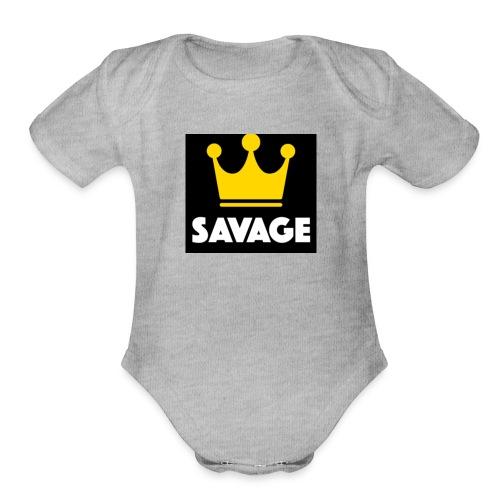 5DCD047A 7341 45E9 AB38 A9F2685485AE - Organic Short Sleeve Baby Bodysuit